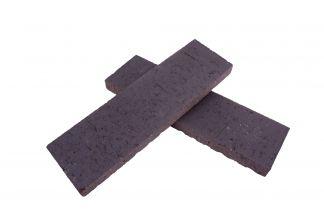 Box of 42 Flats - Rustic Iron Single Thin Bricks