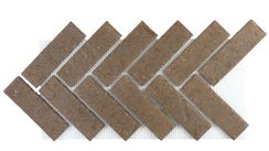 Brickwebb Herringbone - River Silt