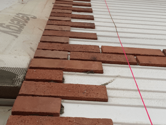 Old Mill Brick Continuous Insulation
