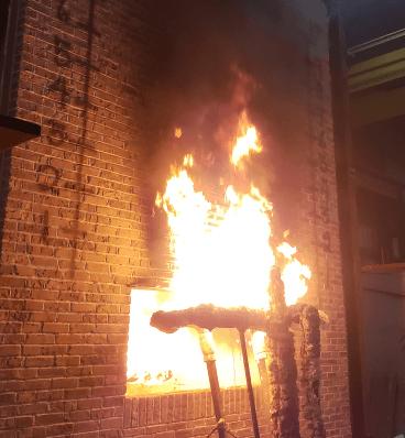 Old Mill Thin Brick Panel Fire-Testing Process