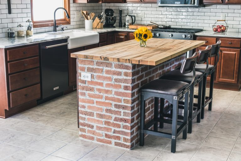 3 Brick Ideas for your Kitchen Renovation