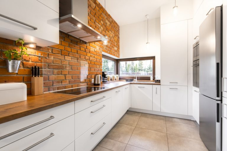 How to Add Style to Your Gorgeous Brick Backdrop