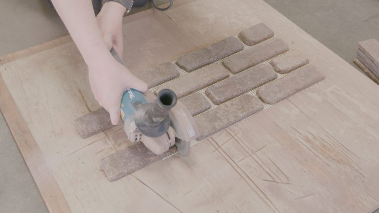 How to Easily Cut Thin Brick
