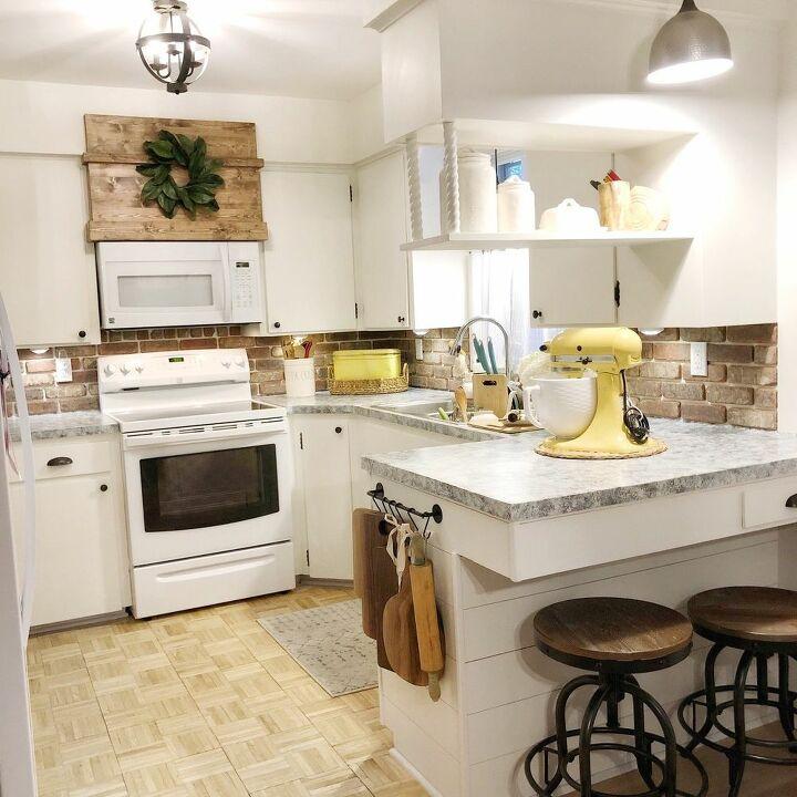 DIY Brick Backsplash   Oldmillbrick Blog