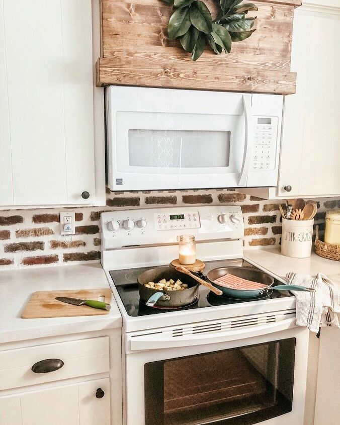 Diy Brick Backsplash Oldmillbrick Blog