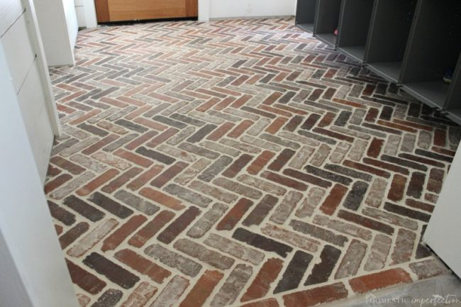How to Install a Thin Brick Floor