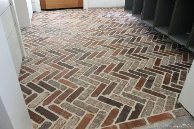How to Install a Thin Brick Floor
