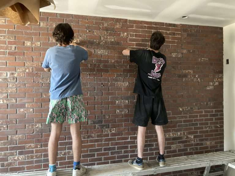 High End Office Space: Brickwebb Install by Two Teenage Brothers